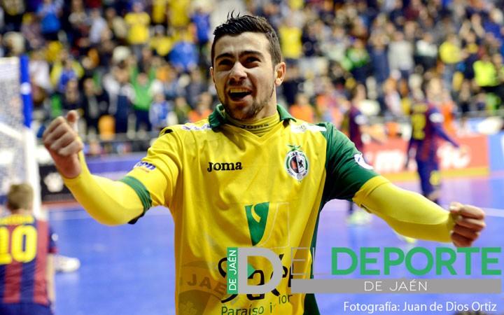 Chino no continuará en el Jaén Paraíso Interior FS la próxima temporada