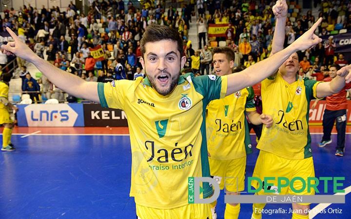 Dani Martín renueva una temporada con el Jaén Paraíso Interior FS