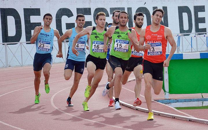 El cuadro masculino del Unicaja Atletismo, segundo en el encuentro de Andújar