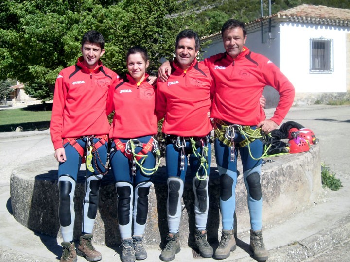 La jiennense Fátima García, subcampeona de España en descenso de cañones