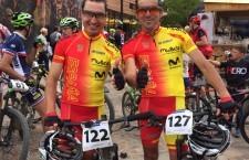 Los ciclistas jiennenses finalizaron en 49ª y 55ª posición. Foto: Prensa Sport Bike.