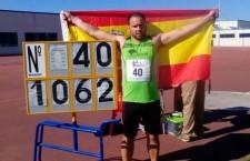 Carlos Hugo García, doble campeón de España