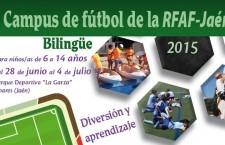 La Federación Jiennense de Fútbol celebra la primera edición de su Campus de Verano