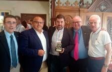 El Comité de los Campeonatos de España de Selecciones de la RFEF premia a Nicolás Sabariego