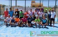 Entrega de premios del Open Oro Club Tenis Cazorla-Villa Peal de Becerro
