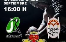 El Jaén Rugby Club disputará este sábado un triangular amistoso