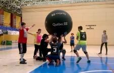 La Escuela Deportiva de kin-ball en Martos ya está en funcionamiento
