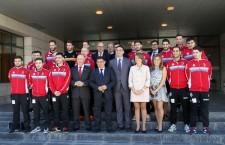 El Jaén FS firma el convenio del Programa Estrella Élite con la Junta de Andalucía