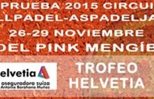 Padel Pink Mengíbar acoge la última prueba de la temporada del Circuito AspadelJaén