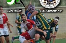 El Jaén Rugby Club recibe el domingo en Las Lagunillas al CDU Granada 'B'