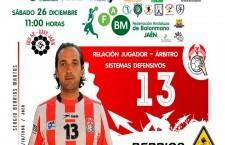 El jiennense Sergio Berrios impartirá una charla sobre la relación de jugador-árbitro de balonmano