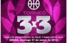 Úbeda acogerá este domingo el Torneo Provincial 3×3 Júnior