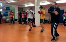Los hermanos Buendía imparten un monográfico de boxeo olímpico en la UJA