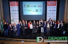 Los mejores deportistas andaluces de 2015 reciben sus galardones en Jaén por la FPDA