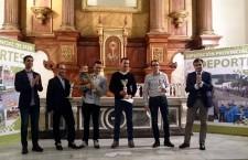 Los vencedores en el II Circuito Provincial de Duatlón Cross recibieron sus premios