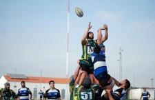 Jaén Rugby salda con victoria la ida de cuartos de los playoffs