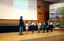 Los ganadores del Circuito Provincial de Campo a Través recibieron sus premios