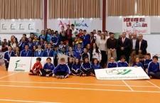 Manuela Nevado y Fátima Albín, campeonas de Andalucía sub-19 y sub-15 de bádminton