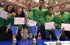 El Club de Luchas Power de Torredelcampo obtiene seis oros en el Nacional de Pontevedra