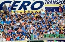 La afición en Linarejos (Linares Deportivo – CP Cacereño)