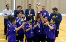 Los benjamines de Jaén, cuartos en el Andaluz de fútbol sala