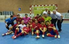 El Atlético Mengíbar FS, campeón de la Copa Presidente Diputación