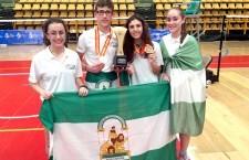 Dos infantiles de Arjonilla, campeones de España en el Nacional de bádminton con la selección andaluza