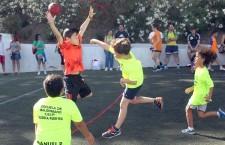 El balonmano jiennense homenajeó a Sebastián Moya