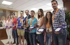 Los medallistas de los Campeonatos de España Universitarios son reconocidos por la UJA