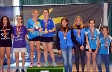 La arjonillera Carla Moyano, campeona en el Nacional sub´13 de bádminton