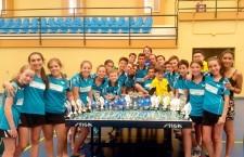 El CTM Linares destaca en la Copa Diputación de tenis de mesa