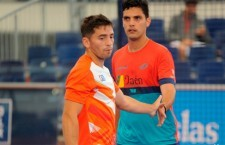 Fotografía: Luque disputará mañana su primera semifinal en World Padel Tour. Foto: World Padel Tour.