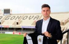 Pablo Ortiz, presentado «con mucha ilusión» en el FC Cartagena