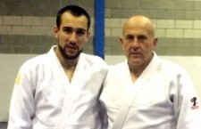 Pablo Jiménez, cuarto dan de judo