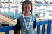 Paula Agudo, del CN Santo Reino, logró el oro en el Andaluz de Jóvenes Nadadores