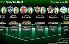 El Atlético Mancha Real anuncia sus amistosos de pretemporada