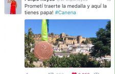 Felipe Reyes regresa a Canena para brindar el bronce a su padre