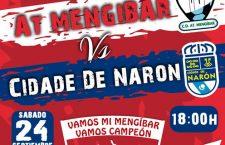 El Atlético Mengíbar muestra el cartel del debut en su feudo