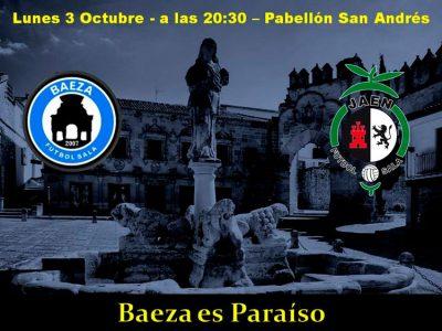 El Jaén FS jugará un amistoso en Baeza el 3 de octubre