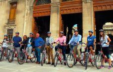 La UJA lanza el proyecto con bicicletas eléctricas 'Hack the city'