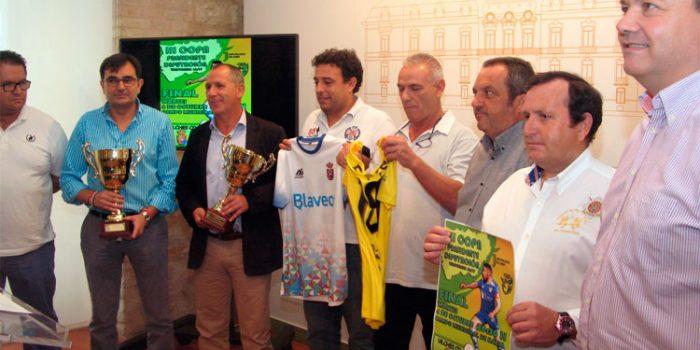 Presentada la final de la III Copa Presidente Diputación