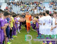 Presentadas en La Victoria las categorías inferiores del Real Jaén