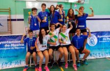 El CB Arjonilla logra tres oros, tres platas y siete bronces en el Máster Nacional de Huelva