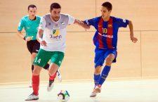 El Atlético Mengíbar certifica un valioso empate en Barcelona
