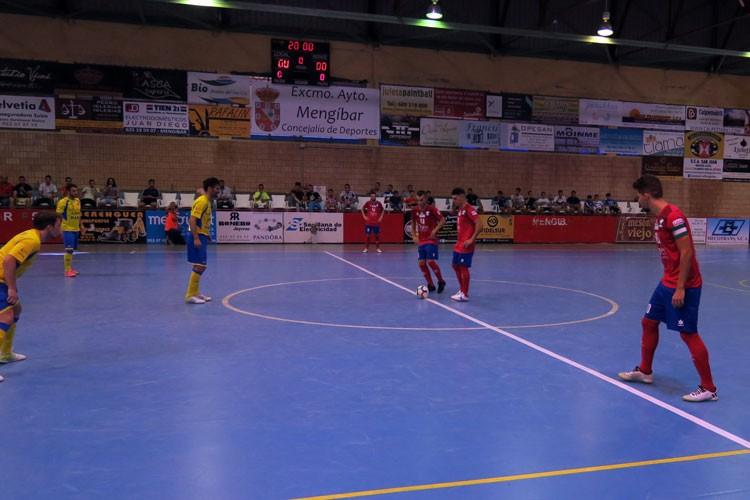 El Atlético Mengíbar buscará la victoria en el feudo del Rivas Futsal