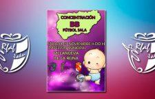 Un centenar de niños participarán en la concentración BB de fútbol sala en Villanueva de la Reina