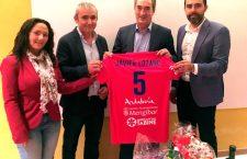 Javier Lozano visitó Mengíbar en el último encuentro de liga