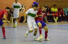 El Atlético Mengíbar recibe una goleada del Elche