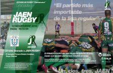El Jaén Rugby Club viaja a Granada con el objetivo de lograr el liderato
