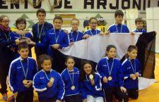 La cantera del CB Arjonilla, campeona de Andalucía